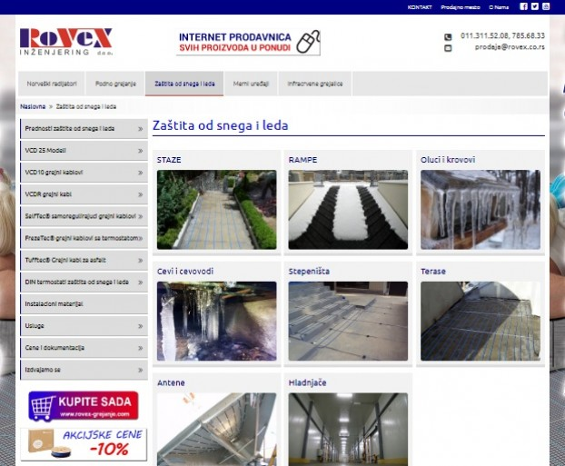Proces link building - a za sajt Rovex