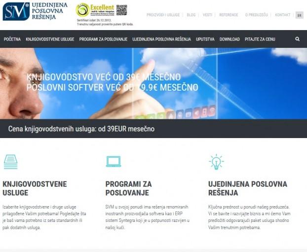 Izrada i optimizacija sajta za agenciju SVM