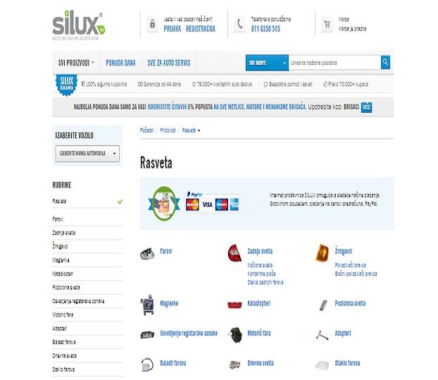 Link building za sajt Silux.rs