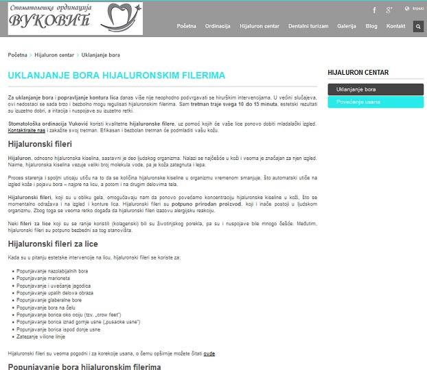 SEO optimizacija za sajt ordinacije