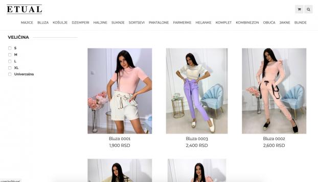 izrada online shopa etual