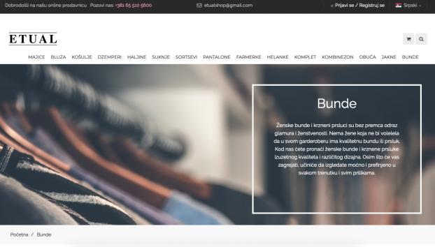 online prodavnica etual