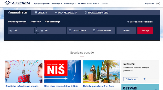 optimizacija sajta air serbia
